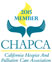 California Hospice and Palliative Care Association Badge signifying our membership.