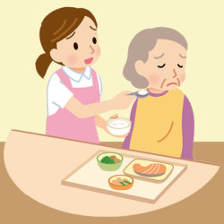 dementia feeding challenges